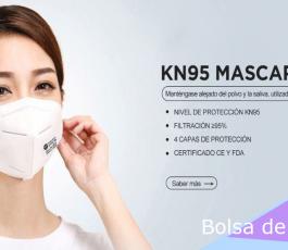 Mascarilla KN95 – Covid (Bolsa 10 Unidades)