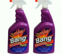 2Pack Bang-impresionante Limpiador de Ducha & Baño