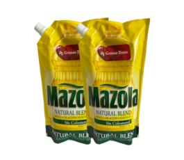 2PACK ACEITE MAZOLA BOLSA (750 ML)