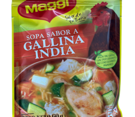 SOPA GALLINA INDIA MAGGI (60 GR)