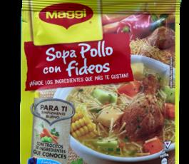 SOPA POLLO CON FIDEOS MAGGI (57 GR)