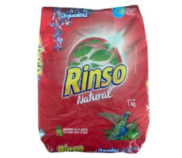 DETERGENTE POLVO RINSO NATURAL ORQUIDEAS (1.0 KG)
