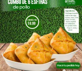 ESFIHAS – Empanadas Brazileñas Horneadas de Pollo