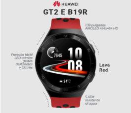 Huawei GT2 E B19R – Smart watch – Lava red