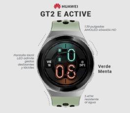 Huawei Watch GT 2e – Acero inoxidable – reloj inteligente con correa – TPU