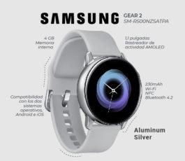 Samsung Gear 2 – Smart watch – SM-R500NZSATPA